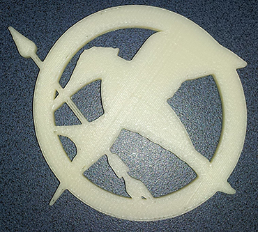 3D printed Mockingjay - Afinia