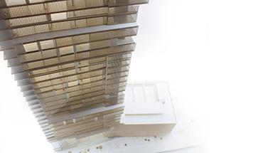 12 - physical model - luxury hotel