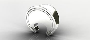 BowieBracelet-rendered-SilverShiney