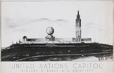 United Nation Building - Unbuilt San Francisco