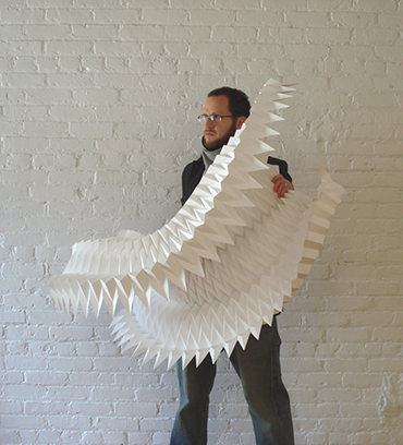 Matt Shlian - ghost pleat