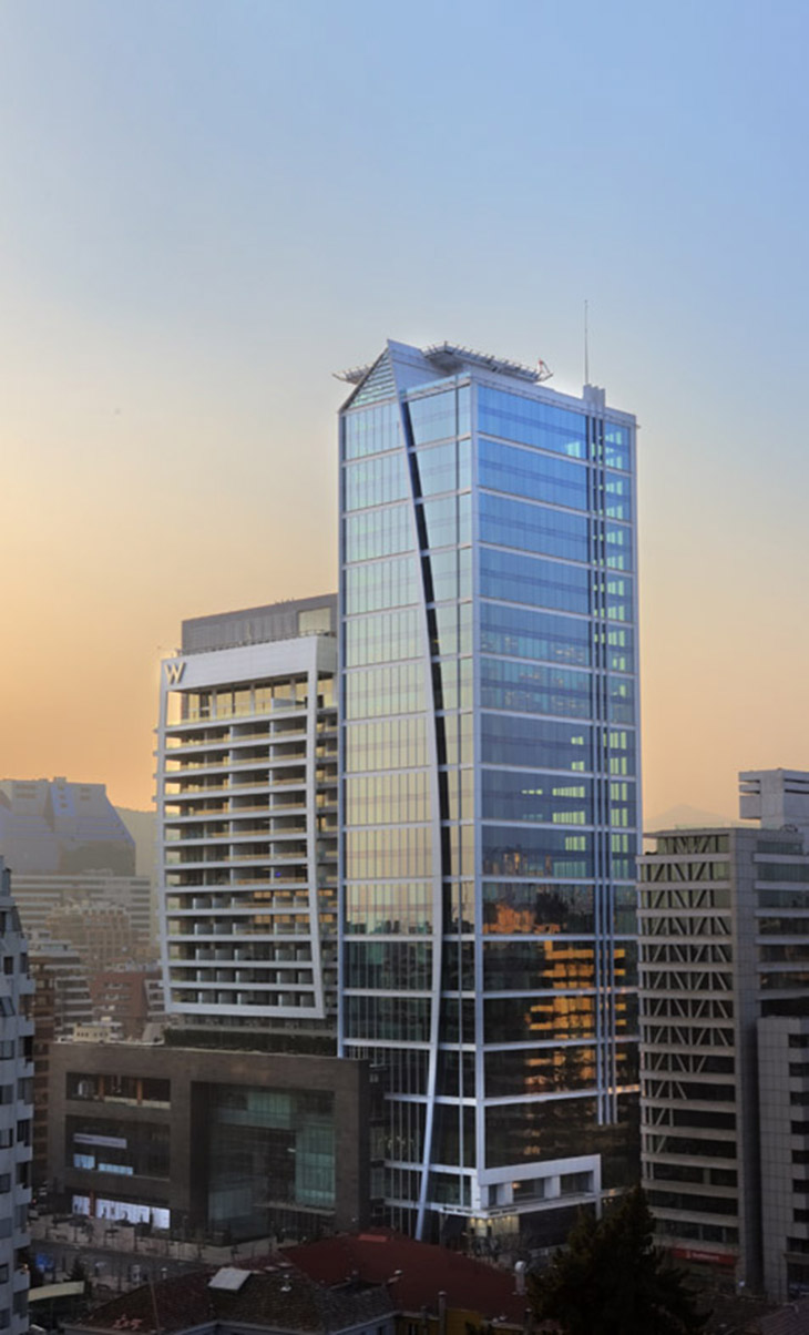 Handel Architects - W hotel Santiago 1