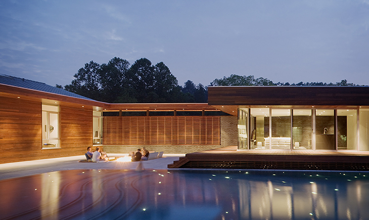 Matthew Hufft -Curved House
