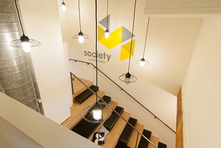 BUILD LLC Society Stair Tangram 02#