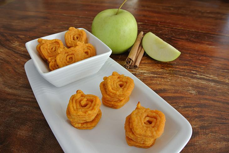 Foodini - 3D Printed Food - NM hashbrowns sweet potato apple