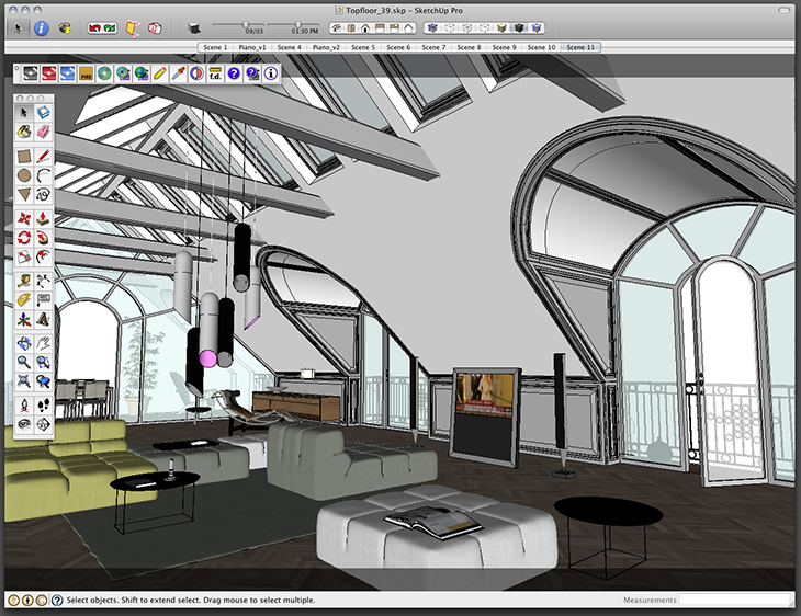 Maxwell Render for SketchUp - Novedge Blog - Screendump_Topfloor