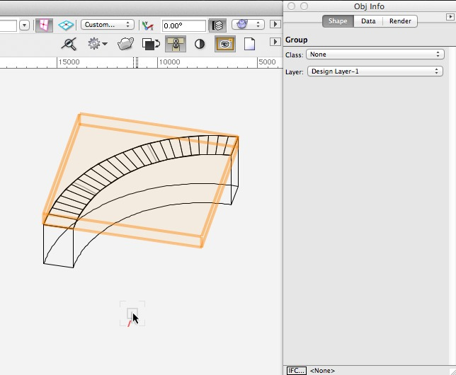 Vectorworks - Change the NURBS surface to a group of 3D polys