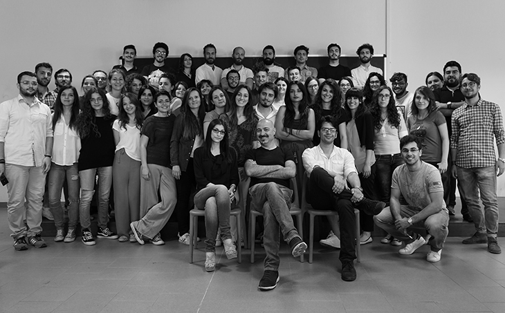 1_Fallacara, Colella and Barberio from NFRG with the students of the Design Studio