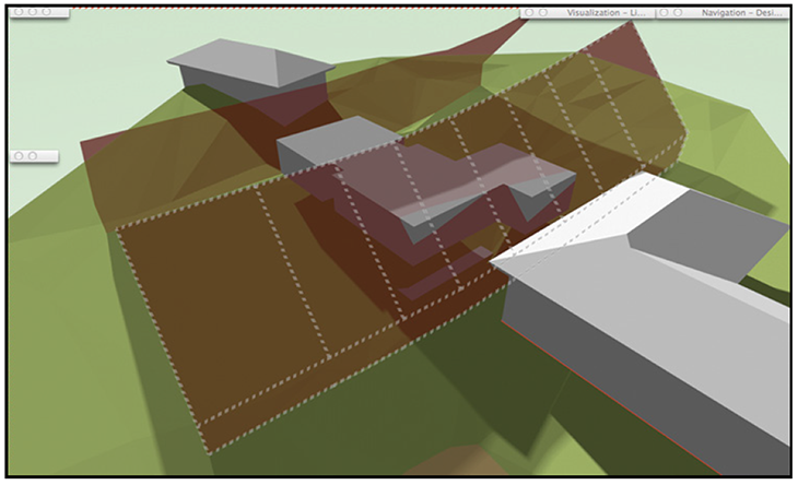 Neil_Barman_Vectorworks_Architect_Tutorial Manual_IMAGE 3-Site with massing models