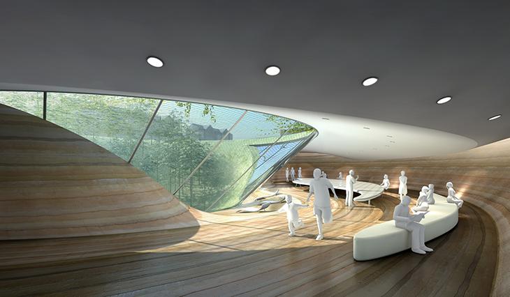 3GATTI-12 rammed underground pavilion