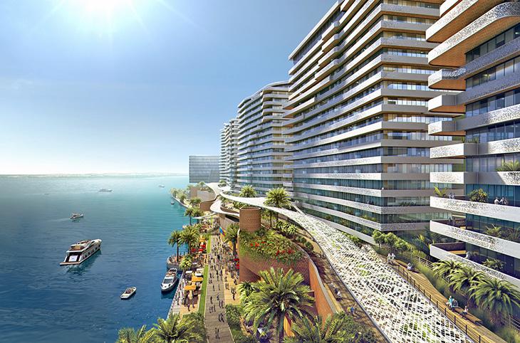 DIG--Capital Bay Mixed-Use    Abu-Dhabi, UAE    --client--HOK