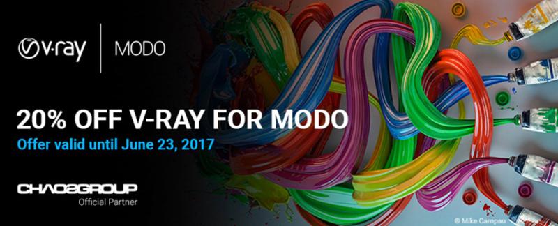V-Ray 3.5 for MODO