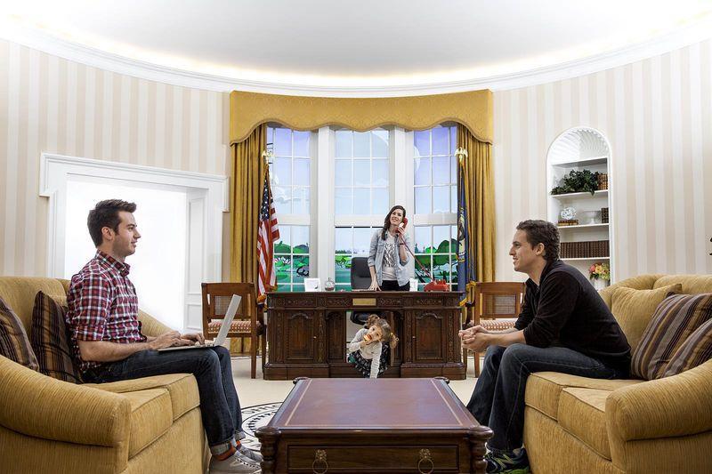 1st Floor Oval Office