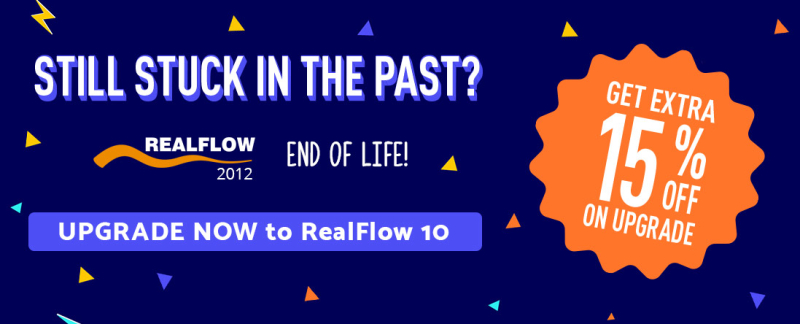 Upgrade to RealFlow10