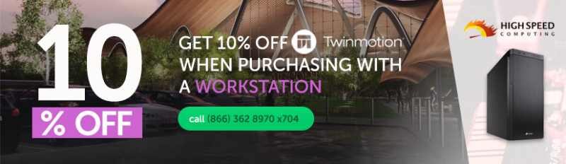 Twinmotion & CAD Worstation