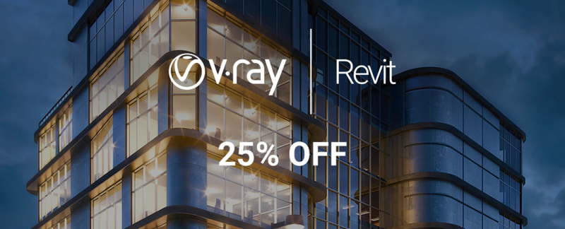 V-Ray for Revit Summer Promo