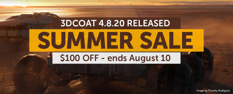 3D Coat Summer Sale