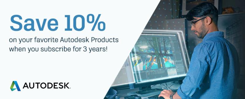 Autodesk 10% Promo